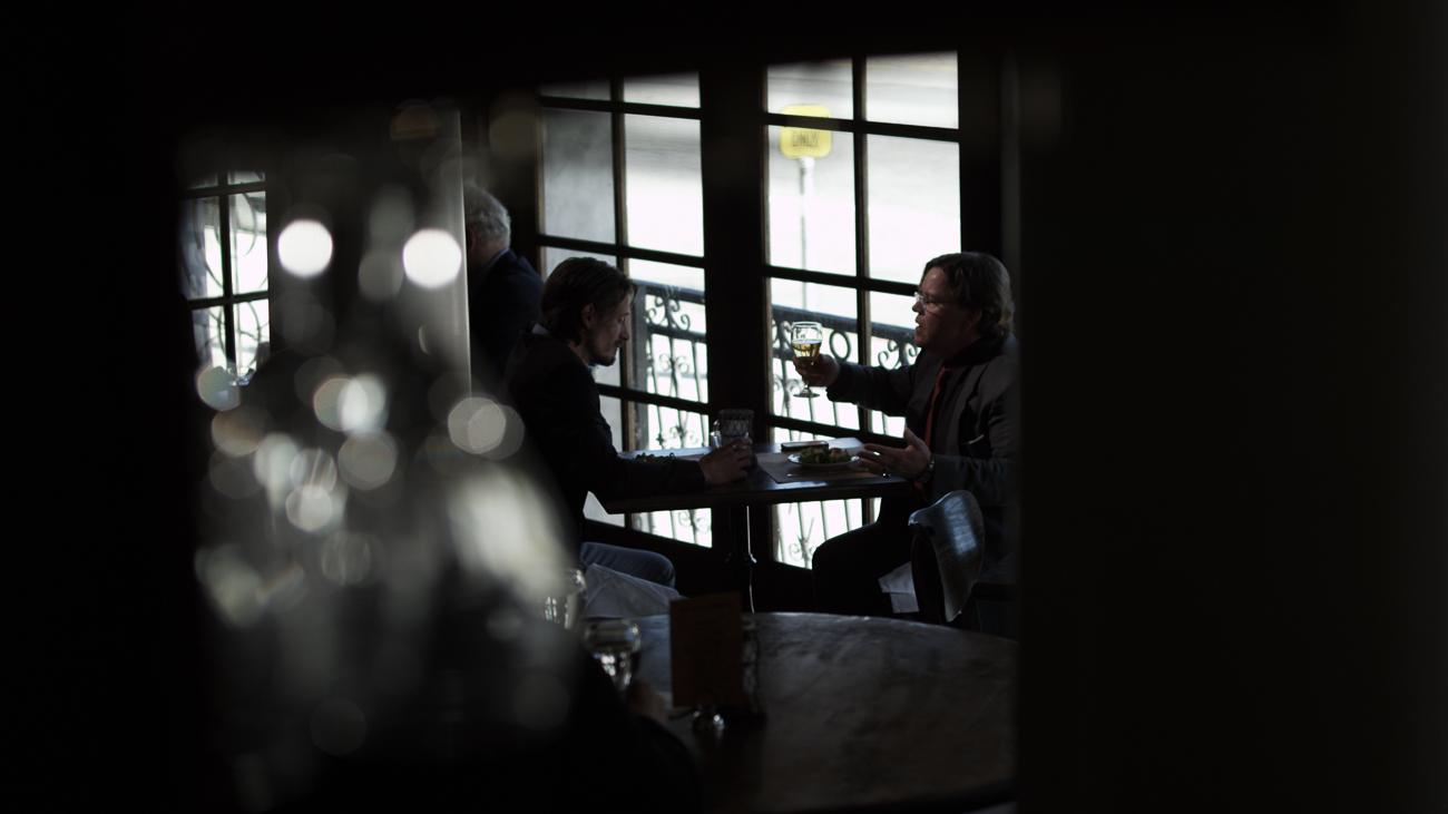 Frame Grab from festival winning short film The Big Meet