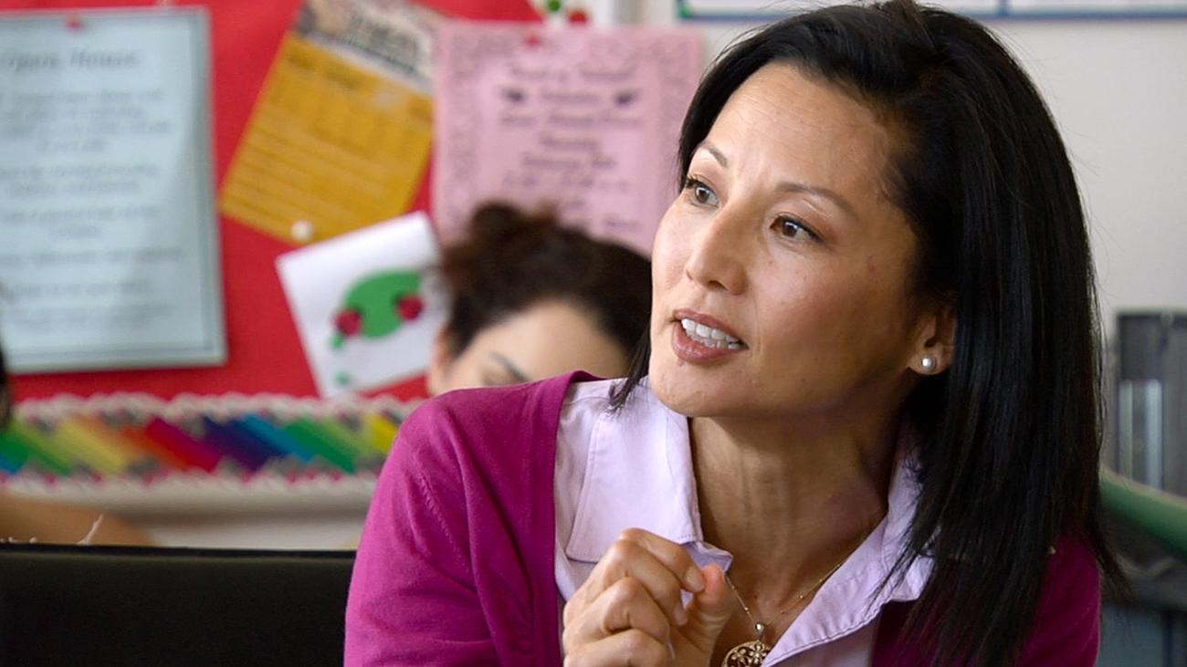 Tamlyn Tomita in Teacher of the Year